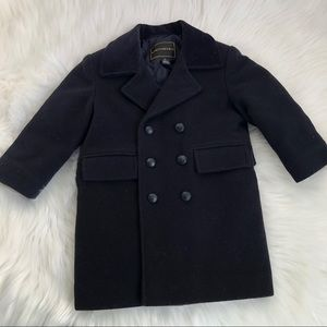 Boys Rothschild Wool Pea Coat